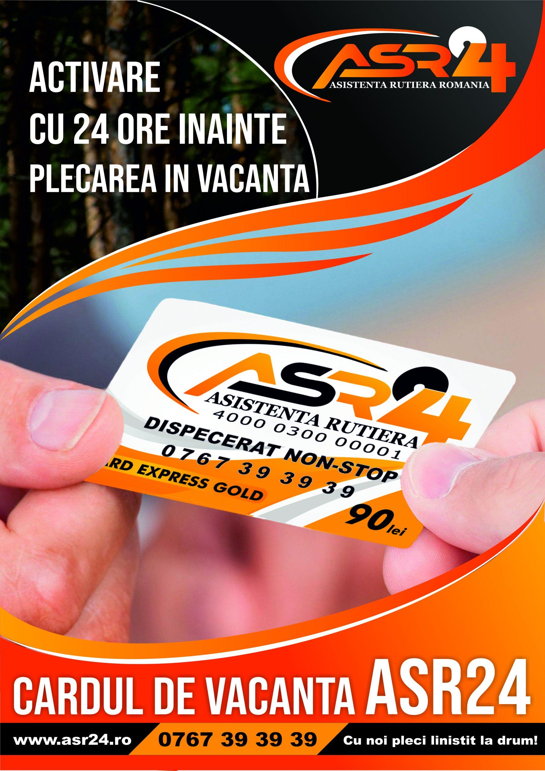 Cardul de vacanta ASR24