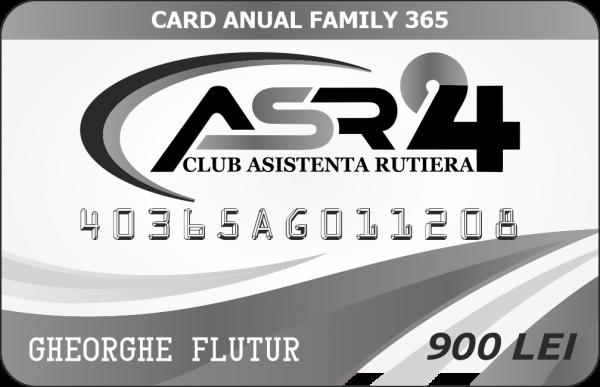 CARD ANUAL FAMILY 365 - ASR24