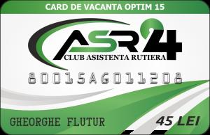 CARD DE VACANTA OPTIM 15 - ASR24
