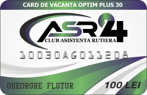 CARD DE VACANTA OPTIM PLUS 30 - ASR24